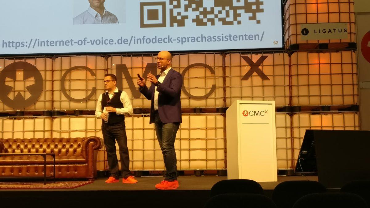 """Internet of Voice – Vortrag """"Punkt der Erfüllung"""" auf der CMCX 2018 – Nachlese"""