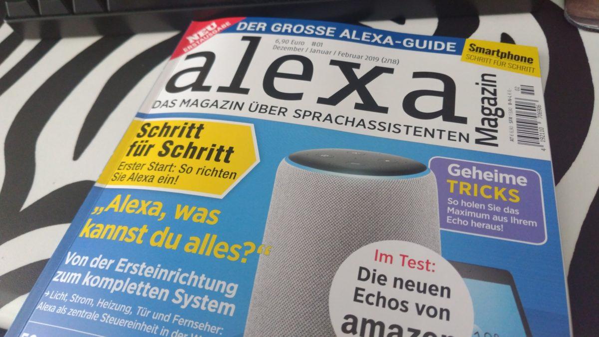 Alexa Magazin – Die Erstausgabe